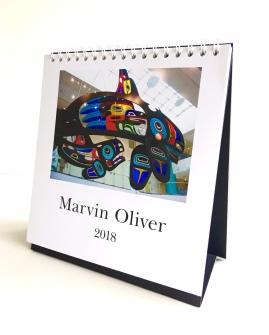 Marvin Oliver 2018 Calendar